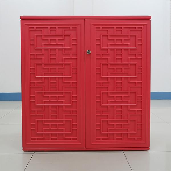 ตู้เก็บของ สีแดง