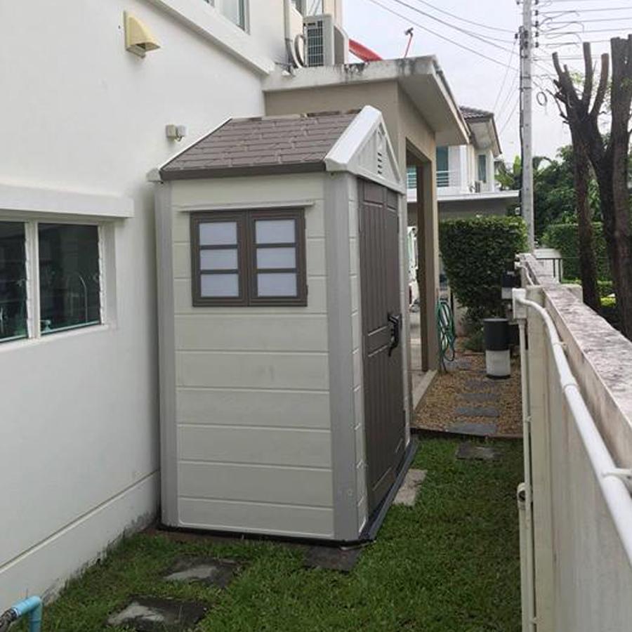 บ้านเก็บของกลางแจ้ง