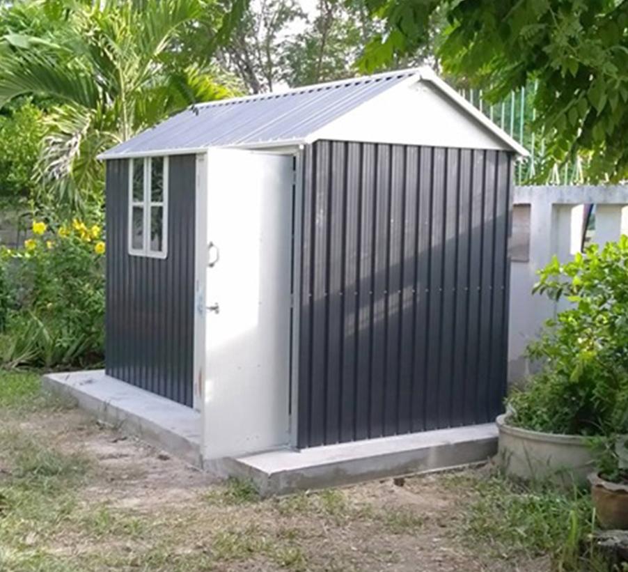 บ้านเก็บของ METAL SHEET