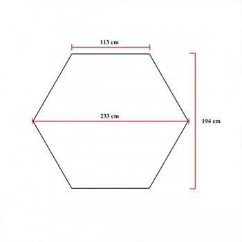 โรงเรือนหกเหลี่ยม (พื้นที่ 3.3ตร.ม.) Thumnail